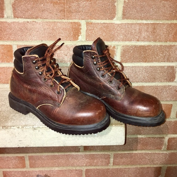 f6cf69cd33c Vintage Red wings super sole men's 8D boots USA